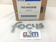 2000 - 2004 Ford Focus Rear Chrome Nameplate Emblem OEM YS4Z-5442528-BB