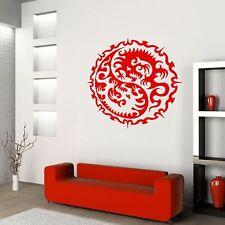 DRAGON YIN YANG Chinise Wall / Car Decal Sticker  BIG or SMALL