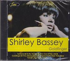 SHIRLEY BASSEY - GOLDFINGER - CD - NEW -