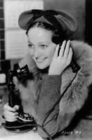 American Actress And Singer Dorothy Lamour Phones Her Husband Leader OLD PHOTO