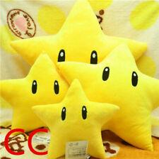 Super Mario brothers Galaxy Luma Star Plush Toy Stuffed Soft Doll Pillow 1pcs