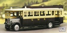5137 Modelscene OO Gauge Maudslay Bus Great Western Railway Plastic Kit