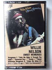 """WILLIE NELSON CASSETTE """"SWEET MEMORIES""""  NEW & SEALED"""