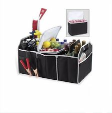 Portable Collapsible Trunk Organizer Removable Thermal Cooler Car Truck SUV Van
