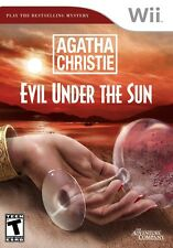 Agatha Christie: Evil Under the Sun - Nintendo  Wii Game