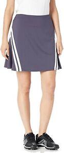 "Nike Women's Dri Fit UV Summer 17"" Golf Skirt Skort Grey Small"