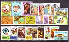 Grenada Grenadines-24 Diff. MNH Condition Stamps #F45