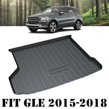 Heavy Duty Cargo Rubber Mat Boot Liner Luggage Tray for Mercedes-Benz GLE 15-18