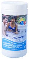 Aquasparkle 1kg Multifunctional Mini 20g Chlorine Tablets Hot Tub Spa Chemicals