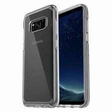 Genuine OtterBox Samsung Galaxy S8 Symmetry Series Tough Hard Case Cover Clear