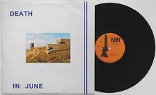 "Death In June - Heaven Street 12"" 1983 PRESS Current 93 Pierce Wakeford Leagas"
