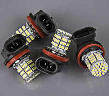 4x Super Bright H11 White 85-SMD LED Daytime Fog Day Driving Running Light Lamp