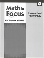 Grade 4 Math in Focus Homeschool Answer Key for Student Books & Workbooks 4th