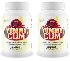2 YUMMY CUM Sweet Better Tasting Flavour Sperm Semen Taste Man Milk