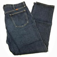 Rustler Denim Jeans Mens 40X32 Blue Straight Leg Cotton Medium Wash 5 Pockets