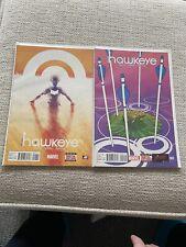 All-New Hawkeye #1 And #2. NM. Marvel. 2 Comic Set.