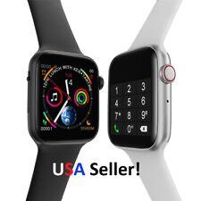 "2020 ECG Heart Rate Monitor W34 Bluetooth Sport 1.54"" Smart Watch + Bracelet USA"