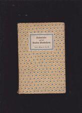 Deutsche antiquarische Bücher mit Religions-Insel-Bücherei