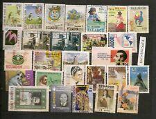 Lotto Ecuador francobolli usati tutti diversi (EC1) -Guarda tutte le foto!