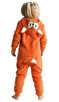 Boys or Girls FOX WITH TAIL 0nesie Animal Costume BEST QUALITY Kids Age 2- 13