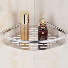 Contemporary Single-Layer Triangular Space Aluminum Bathroom Shelf Corner Shelf