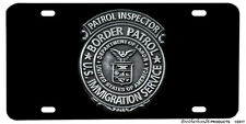 United States Border Patrol Immigration Service Aluminum License Plate