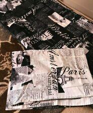 Alamode duvet cover and pillow sham. Twin size World traveler