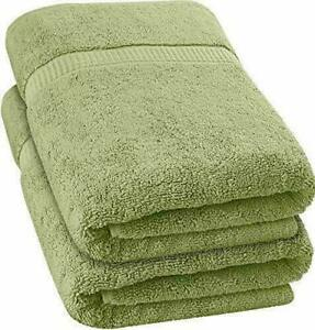 "Extra Large Bath Towel 27 X 52"" Cotton Luxury Bath Sheet 700 GSM"