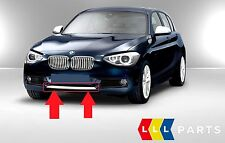 BMW SERIE 1 NUOVO ORIGINALE F20 F21 PARAURTI ANTERIORE INFERIORE Trim Striscia Bianco Urban