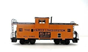 HO Athearn John Henry Family Lines Orange SCL/LN Wide Vision Caboose #0960 (888)