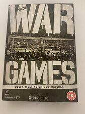 WWE Dvd Wcw War Games Most Notirious Matches 3 Disc Set