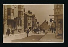Dorset LYME REGIS Broad St Royal Lion Hotel c1900/10s? RP PPC by Judges