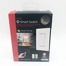 GE Z Wave In Wall Smart Switch White And Almond