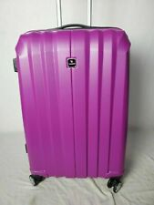 $340 TAG Laser 2.0 25'' Hard Spinner Luggage Suitcase Hot Pink Upright