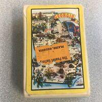 Vintage Georgia Mini Deck Playing Cards Complete Plains Georgia