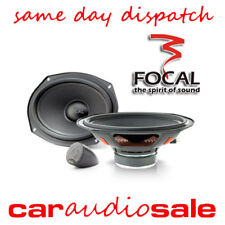 "FOCAL INTEGRATION ISU690 6"" X 9"" 80W COMPONENT OVAL CAR VAN TAXI SPEAKERS PAIR"