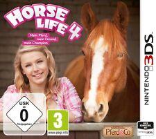Nintendo 3DS Horse Life 4 Mein Pferd mein Freund mein Champion Top Zustand