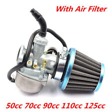 19mm 50CC 70CC 90CC 110CC 125CC ATV DIRT BIKE GO KART Carburetor With Air Filter