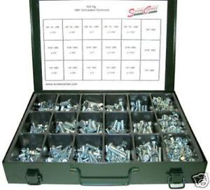 UNC Zollschrauben Sortiment 529 Teile Stahl 8.8 / Grade 5  Inch Assortment Kit