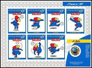 Timbre France Autoadhésifs (3401a) coupe du monde 1998 (France/Paraguay)