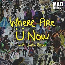 "Skrillex Diplo & Justin Bieber, Where Are U Now, NEW/MINT Yellow vinyl 12"" RSD"