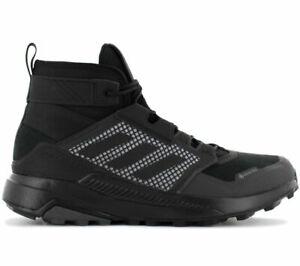 adidas TERREX Trailmaker Mid GTX GORE-TEX Herren Wanderschuhe FY2229 Schwarz NEU