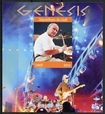 Mali 2018 MNH Genesis Phil Collins 1v IMPF M/S Music Famous People Stamps