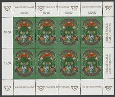 v2208 Österreich/ Tag der Briefmarke   MiNr 2158 ** Kleinbogen