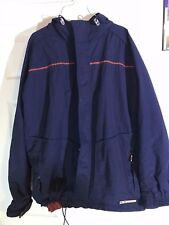Oakley Software Mens Coat Blue Orange XL Retro Vintage Snowboarding Winter
