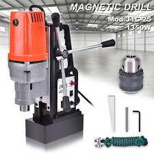 J1C-25 25 mm 1350W 15000N Magnetic Base Drill Press Boring Magnet Force Tapping