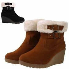 Mid Heel (1.5-3 in.) Wedge Casual Boots for Women