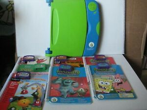 Leapfrog LeapPad Learning System Bundle w/SEVEN Books and SEVEN Cartridge