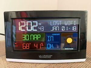 La Crosse Technology C82929 WiFi Projection Alarm Clock with AccuWeather