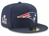 New England Patriots New Era 59Fifty Hat - Super Bowl LI Side Patch  Sideline Hat cd740e3fe3f2